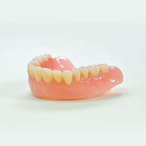 軟性裏装善歯